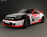 3D model of Nissan 370Z Nismo GT Academy 2009