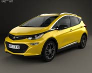 3D model of Opel Ampera-e 2017