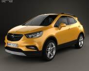 3D model of Opel Mokka X 2017