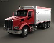3D model of Peterbilt 567 Tipper Truck 2015