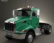 3D model of Peterbilt 335 HE Tractor Truck 2008