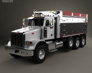3D model of Peterbilt 367 Dump Truck 2007
