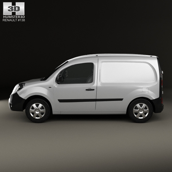 renault kangoo van 2014 3d model humster3d. Black Bedroom Furniture Sets. Home Design Ideas