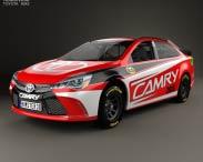3D model of Toyota Camry NASCAR 2015