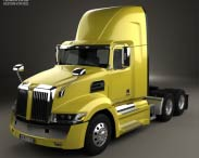 3D model of Western Star 5700XE Day Cab Tractor Truck 2014