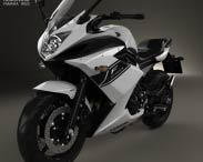 3D model of Yamaha XJ6 Diversion F 2014