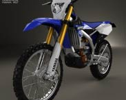 3D model of Yamaha WR250F 2015