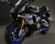 3D model of Yamaha YZF-R1M 2015